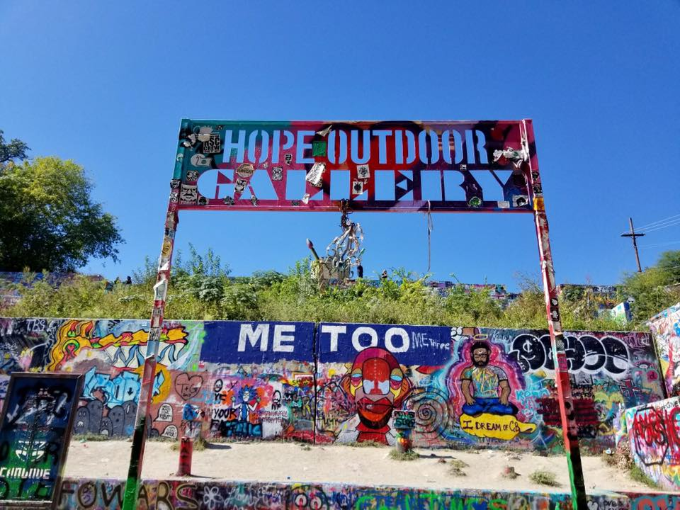 Just as HOPE Outdoor Gallery Gives Voice, We Help Find Our Client's Voice