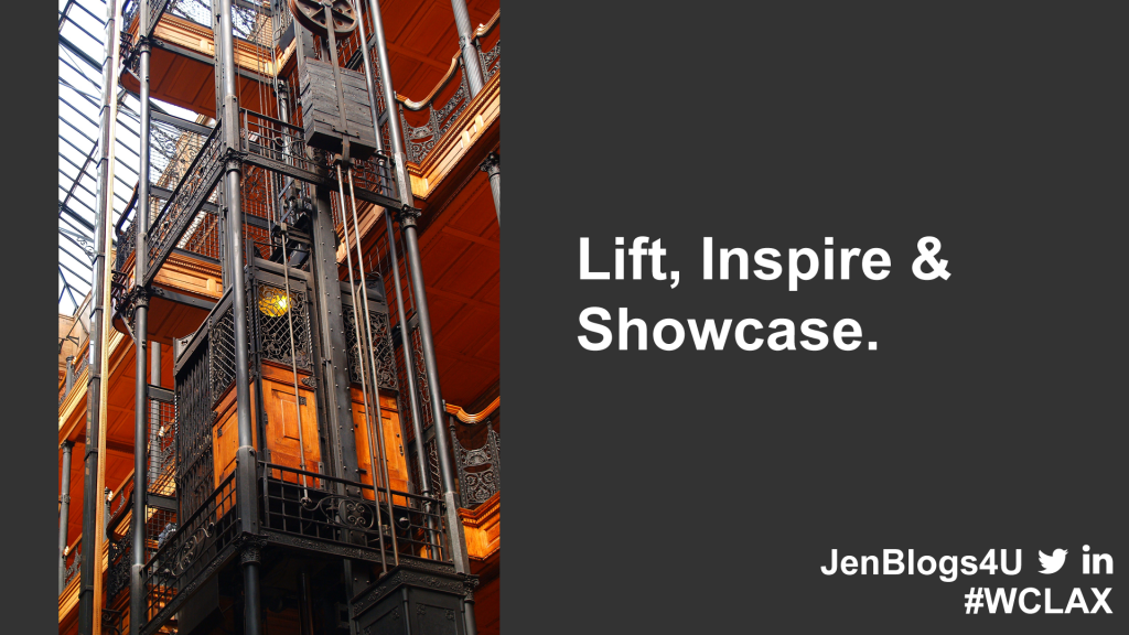 Lift, Inspire & Showcase Your Community.